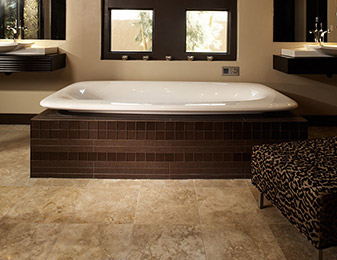 Come visit Flooring & Kitchen Design Center today for all of your Tile & Stone flooring project needs!