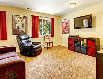 Flooring & Kitchen Design Center and their expert installers deliver high quality material and installation for all of your flooring needs! - Corsica Living Room Carpet Westchester NY