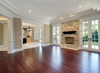 Furnish your home with elegant styles of hardwood flooring at Flooring & Kitchen Design Center