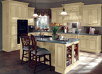 Make your kitchen stand out with semi and fully customizable kitchen cabinets at Flooring & Kitchen Design Center